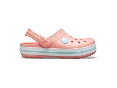 Boty CROCBAND CLOG KIDS C12 melon/ice blue, Crocs - 2