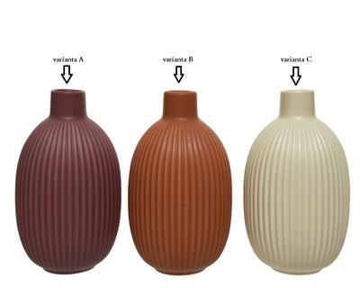 Váza, 18,2cm, 3 druhy, porcelán, Kaemingk - 2