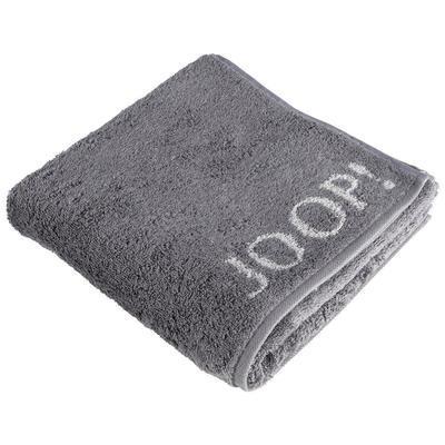 Hostinský ručník 30x50 cm DOUBLEFACE anthrazit, JOOP! - 2