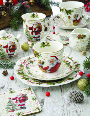 Vánoční set 2ks - Šálek & podšálek MAGIC CHRISTMAS 50 ml, Easy Life - 3