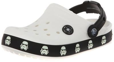 Boty STAR WARS STORMTROOPER CLOG C8/9 white/black, Crocs - 3