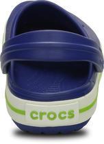 Boty CROCBAND KIDS J2 cerulean blue/volt green, Crocs - 3/6