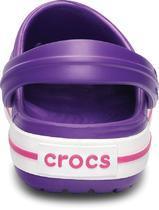 Boty CROCBAND KIDS C6/7 neon purple/neon magenta, Crocs - 3/7
