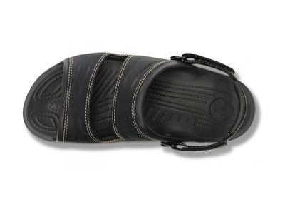 Sandály YUKON TWO-STRAP M8 black/black, Crocs - 3