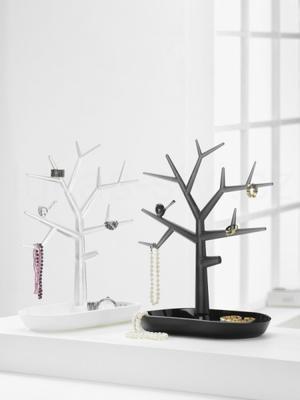 Držák na drobnosti - strom PI:P - černá/transp.antracitová, Koziol - 3