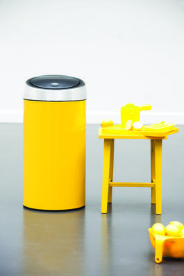 Koš odpadkový TOUCH BIN 45 l - žlutá, Brabantia - 3