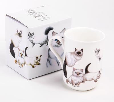Hrnek Cat Birman CASHMERE PETS 300 ml, Maxwell & Williams - 3