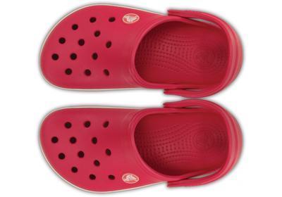 Boty CROCBAND KIDS J1 raspberry/white, Crocs - 3