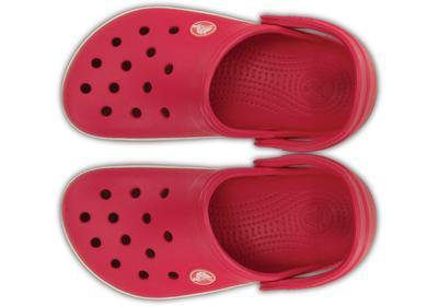 Boty CROCBAND KIDS J1 raspberry/white, Crocs - 3