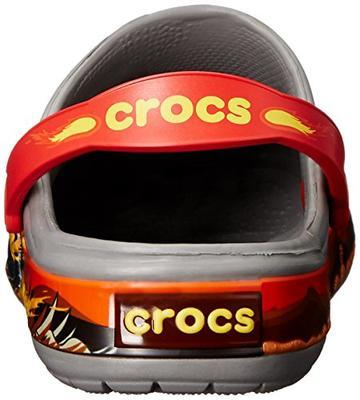 Boty CROCBAND MONSTER TRUCK CLOG KIDS C10 smoke, Crocs - 3