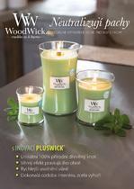 Svíčka vonná TRILOGY - Hřejivé dřevo - 609,5 g, WoodWick - 3/4