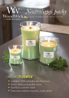 Svíčka vonná TRILOGY - Hřejivé dřevo - 609,5 g, WoodWick - 3