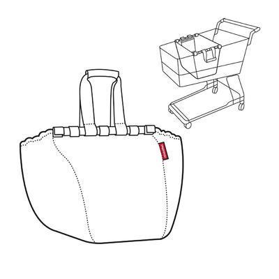Taška do nákupního vozíku EASYSHOPPINGBAG Artist Stripes, Reisenthel - 3