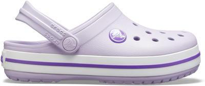 Boty CROCBAND CLOG KIDS  lavender/neon purple, Crocs - 3