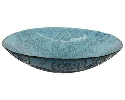 Dekorativní mísa, 40x10cm, 2 druhy, recyklované sklo, Kaemingk - 3