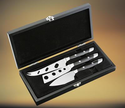 Nože na sýr - set Fontina 3-dílný - 3
