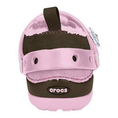 Boty DAWSON KIDS C5 chocolate/bubblegum, Crocs - 3
