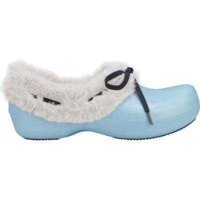Boty GRETEL W6 sky blue/oatmeal, Crocs - 3