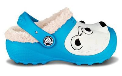 Boty POLAR BEAR LINES C6/7 electric blue, Crocs - 3