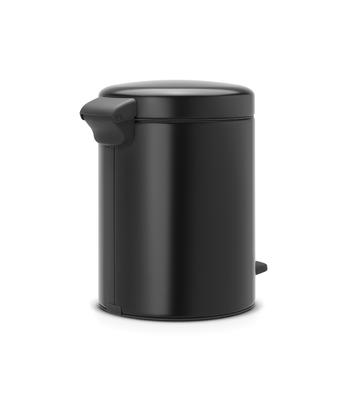 Pedálový koš Newlcon 5l, matná černá, Brabantia  - 3