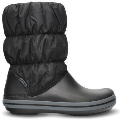 Dámské nepromokavé zimní boty PUFF BOTS, černé, vel. 35-36, Crocs - 3