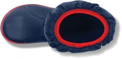 Dětské zimní boty WINTER PUFF Boot Kids-Navy/Red, vel. 30-31, Crocs - 3