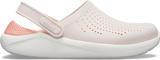 Boty LITERIDE CLOG M9/W11 barely pink/white, Crocs - 3/6