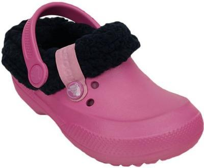 Boty BLITZEN II CLOG KIDS J2 party pink/nautical navy, Crocs - 3