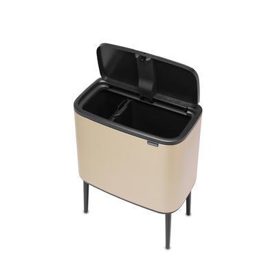 Odpadkový koš Touch Bin 11+23l, champagne, Brabantia - 3