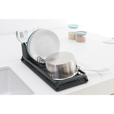 Odkapávač na nádobí, tmavě šedá, Brabantia    - 3