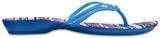 Žabky ISABELLA GRAPHIC FLIP W8 blue jean/geo, Crocs - 3/3