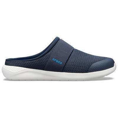 Pantofle LITERIDE MESH MULE M11 navy/white, Crocs - 3
