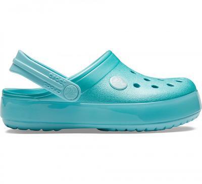 Boty CROCBAND ICE POP CLOG KIDS J2 ice blue, Crocs - 3
