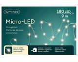 Vánoční světelný řetěz - microLED SILVER WARM 9m-180L, Kaemingk - 3/3