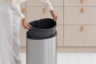 Koš odpadkový TOUCH BIN NEW 40 l - matná ocel, Brabantia - 3