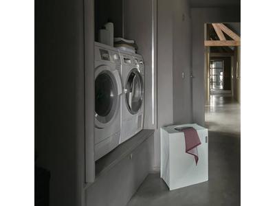 Taška na prádlo 55 l - zelený melír, Brabantia      - 3