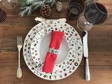 Vánoční talíř polévkový NOEL 22 cm, Taitu - 3/3