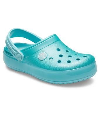 Boty CROCBAND ICE POP CLOG KIDS J3 ice blue, Crocs - 3