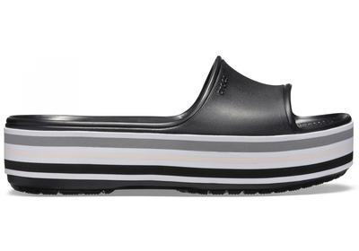 Pantofle CB PLATFORM BLD COLOR SLIDE M7/W9 black, Crocs - 3