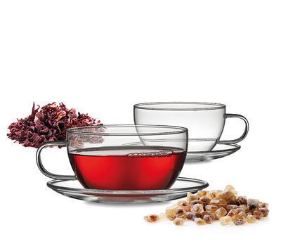 Set 2ks - Šálek a podšálek na čaj ASSAM TEA 250 ml, Küchenprofi - 3