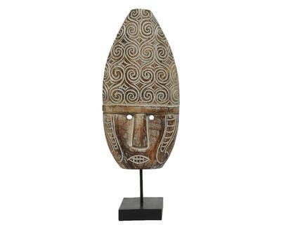 Dekorace MASKA, 21x56cm, antik, 2 druhy, Kaemingk - 3