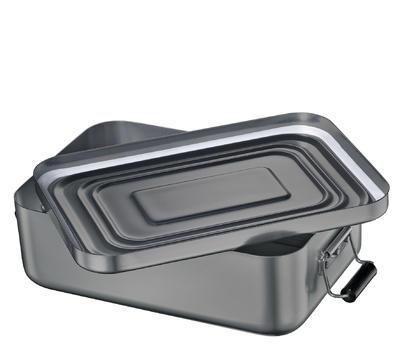 Obědový box, anthrazit, velký - 3