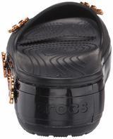 Pantofle METALLIC BLOOMS SLIDE M8/W10 black, Crocs - 3/6