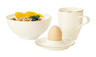 Talířek na vajíčko 12,5cm MEDINA GOLD, Seltmann Weiden - 3