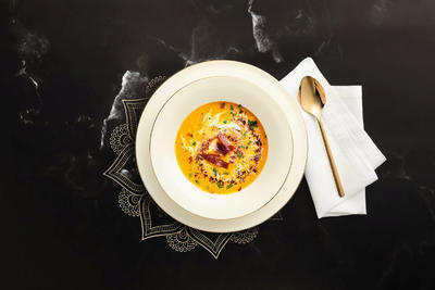 Polévkový talíř 22,5cm MEDINA GOLD, Seltmann Weiden - 3