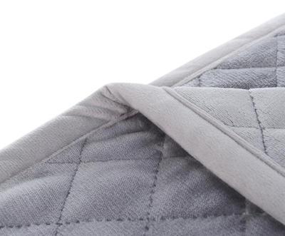 Prošívaný přehoz přes postel 220x240, silber, Gözze - 3