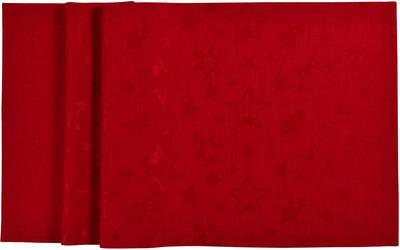 Vánoční ubrus COSMO 150x250 - červený, Sander - 3