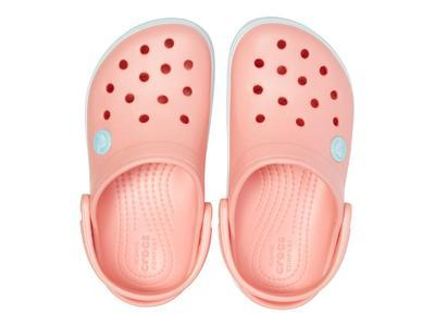 Boty CROCBAND CLOG KIDS J1 melon/ice blue, Crocs - 3
