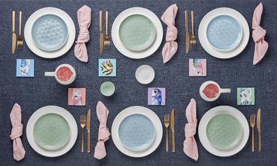 Talíř jídelní WAYFARER 27 cm - seafoam, Maxwell & Williams - 3