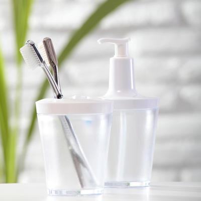 Dávkovač na mýdlo FLOW 250 ml - šedá, Koziol - 3